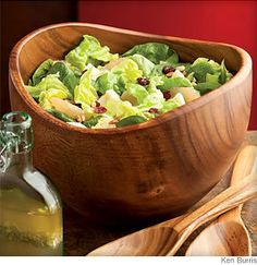 Mixed Green Salad With Grapefruit & Cranberries - Cool, refreshing with a tangy vinaigrette.