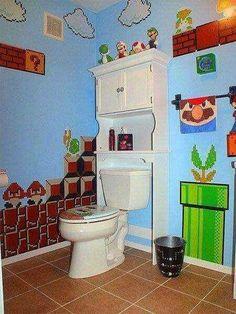 The sass bathroom