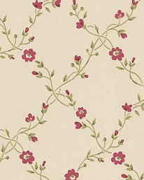 Forget Me Not Neutral/Berry tapet från Sanderson - Tapetorama A N Wallpaper, Forget Me Not, Club Chairs, Wells, Berry, Neutral, Display, Traditional, Rose