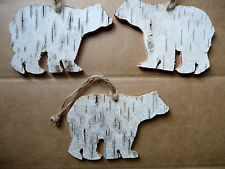 Image result for birch bark christmas decorations