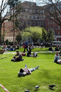 Spring in London- Soho Square