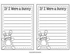 A Cupcake for the Teacher: Bunny Hop {a Craftivity} --Updated!
