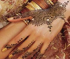 Arabic mehndi designs--