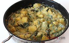 Рецепт: Картошка с молодыми кабачками, тушеные в сметане - пошаговый фото рецепт приготовления