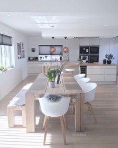 Kitchen Trends 2018, Minimalist Home Furniture, Home Design, Design Ideas, Design Trends, Scandinavian Kitchen, Scandinavian Style, Scandinavian Interiors, Inspire Me Home Decor