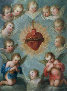 Adoración al sagrado corazón de jesus