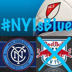 Tomorrow #NYCFC will show #NYRB there is only room for one #true #NY #club! #NYIsBlue #NewYorkCityFootballClub #MLS #HudsonRiverDerby #YankeeStadium #IWillBeThere #SoccerIsHere #RealFootball #soccer #football #DerbyDay #derby #NJIsRed #NJRB ⚽️⚽️⚽️⚽️