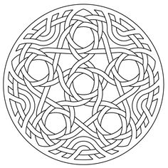 celtic knotwork lute rosette penta by Peter Mulkers Mayan Symbols, Viking Symbols, Viking Runes, Egyptian Symbols, Ancient Symbols, Celtic Quilt, Friendship Symbol Tattoos, Friendship Symbols, Viking Designs