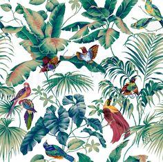Jungle Canopy Multi - Papier Peint Photo et Papier Peint - Photowall - Jungle Pattern, Motif Jungle, Jungle Art, Modern Wallpaper, Of Wallpaper, Photo Wallpaper, Pattern Wallpaper, Fabric Wallpaper, High Quality Wallpapers