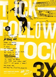 Iconic campaigns immortalised in new poster series F/Nazca Saatchi & Saatchi D&AD posters. The Next series bridges the gap between the D&AD Professional Awards and New Blood programme by identifying the best new talent and promoting them back to industry. Dm Poster, Type Posters, Poster Series, Graphic Design Posters, Graphic Design Typography, Graphic Design Inspiration, Poster Prints, Award Poster, Event Posters