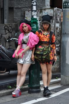 ICCHO STYLE BLOG -TOKYO STREET FASHION MAGAZINE -: yun / hitomi -Powerful-