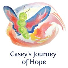 The hopetherapy™ Book: Casey's Journey of Hope | Casey's Journey of Hope was written to be clear, colourful and easy to follow. The metamorphosis of a caterpillar into its cocoon stage and then into a butterfly is a metaphor that universally resonates with those going through the post-traumatic stages of growth inherent in therapy. Casey's is a story richly interwoven with experiences and hoping skills, and as such, provides a wonderful therapeutic springboard for people of all ages.