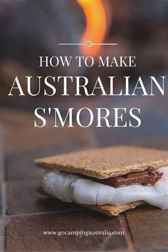 S'mores Australian Style: how to make Australian S'Mores   Go Camping Australia Blog