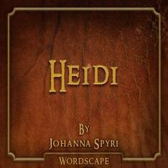 Heidi Audio Book from Freegal - free with library card