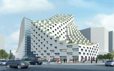 China's Mirrored Cube Building