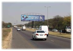 Quagga Road, PTA, Gauteng.    R55, Quagga Road, Facing traffic travelling south along Quagga Rd from Transoranje Rd, the M22 and Pretoria Central towards Atteridgeville