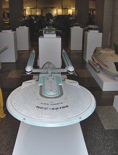 Star Trek Ship Model: Excelsior Class Model of USS Lakota