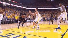 Draymond Green catching Klay Thompson is the best meme of the NBA Finals - SBNation.comclockmenumore-arrow : DRAYMOND SAVED HIS LIFE.