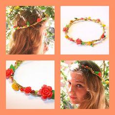 DIY flower head band