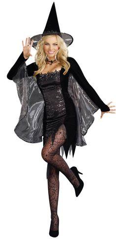 Black Magic Witch Costume - Sexy Costumes