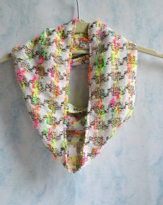 Woven Infinity Scarf  Infinity Scarf  Loop Infinity by Liquidshiva, $20.00