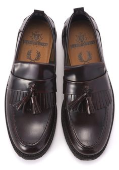 Fred Perry George Cox Tassel Loafer Leather | FRED PERRY JAPAN | フレッドペリー日本公式サイト