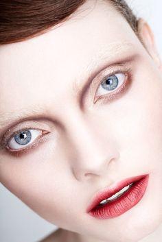 Photography Christine Kreiselmaier / MUA Sarah Jagger / Hair Niki Black / Model Georgie Hobday @Profile Models #beauty