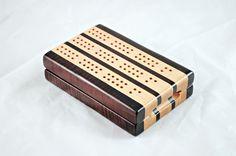Barkupatree -- Heirloom-quality, hand-crafted cribbage board.