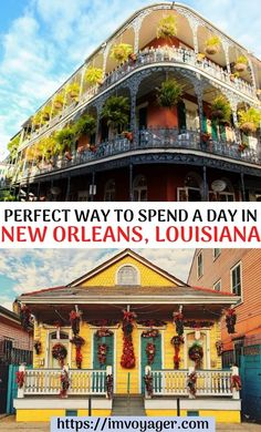 The United States, New Orleans is a must-see place in your life. Click to read on to find out how you spend a day in NOLA - New Orleans, Louisiana. The Perfect Way to Spend a Day in NOLA - New Orleans, Louisiana | One day in NOLA - New Orleans, Louisiana | One day in New Orleans, Louisiana | Things to do in New Orleans, Louisiana | Where to eat in New Orleans, Louisiana | What to do in New Orleans, Louisiana | Places to eat at in New Orleans, Louisiana | Places to eat at in NOLA | #travel…