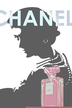 Vintage Chanel, Chanel Poster