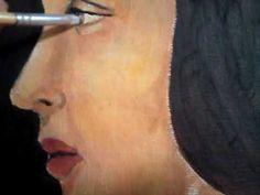 Retrato de Beatrice : segunda musa de Leonardo da Vinci : releitura : Fa...