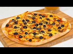 Reteta - aluat de pizza rapid si Pizza Romana | Bucataras TV - YouTube