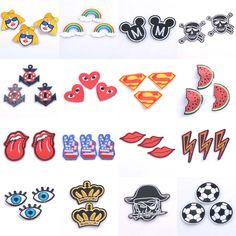 1 cái Vá DIY Thêu Vá Vải Badges Iron-On May Cho Các Bản Vá Lỗi Quần Áo Mũ Trang Trí Ornament