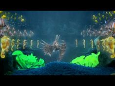 The Chemical Brothers - The Salmon Dance (2007): Directed by Dom & Nic, and animated by the fine folks at Framestore, this is a very silly and trippy music video featuring over 300 dancing fish!  Awesome stuff, I especially love the lionfish.  Check out Framestore's behind-the-scenes article here: http://www.framestore.com/work/chemical-brothers-salmon-dance