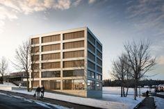 Neubau Stadtarchiv Luzern, Enzmann Fischer | BETA