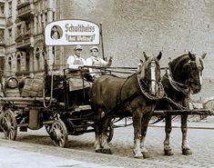 Berliner Bierwagen in den 70ern