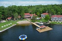 Severn Lodge - one of Ontario's premier lakeside resorts in the heart of the world famous Muskoka ~ Georgian Bay Lake District Places Around The World, Around The Worlds, Lakeside Resort, Bay Lake, Family Getaways, Garden Chairs, World Famous, Lake District, Georgian