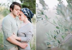 Love that lip color (and this photographer); Italian engagement session.
