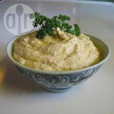 Rezeptbild: Cremiges Hummus mit Jogurt