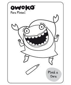 Pintá a Dora