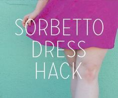 Make a Modern Sorbetto (Colette Patterns) Sewing Hacks, Sewing Tutorials, Sewing Projects, Free Tutorials, Sewing Tips, Sewing Ideas, Sew Your Own Clothes, How To Make Clothes, Making Clothes