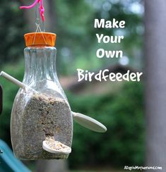 Pledge to Recycle with PepsiCo + Make Your Own Birdfeeder #RecycleRally  #PepsiRecycles #ad #ADayInMotherhood #activity #craft #diy