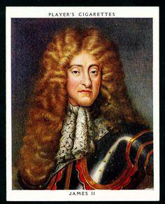 Cigarette Card - King James II | von cigcardpix