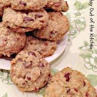 This is a marvelous cookie! It's loaded with pecans, coconut, chocolate chips, oatmeal, and flavored with cinnamon. We have made this tasty cookie several times for our Christmas baking extravaganza when we bake 2,500 to 5,000 cookies (usually over a 3-day period) for friends, family, co-workers, church members, seminary staff, neighbors, and doctors and others…