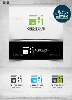Credit Safe - Logo Template - Objects Logo Templates
