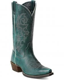 Ariat Alabama Waterfall Cowgirl Boots - Snip Toe