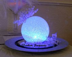 LED Centerpieces balls Set of 12 Led orbs, globes, special occasion decor set of 12 on Etsy, $45.00