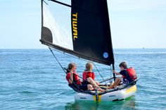 If you don't live on the water, but like to sail, then maybe you'd like the TIWAL 3.