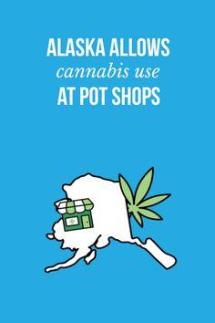 Alaska allows #cannabis use at #pot shops | blog.massroots.com