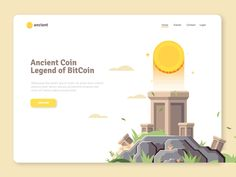 Ancientcoin Landing Page